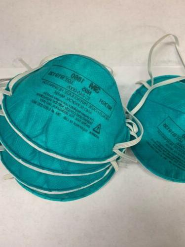 new lot of 5 masks 1860 n95