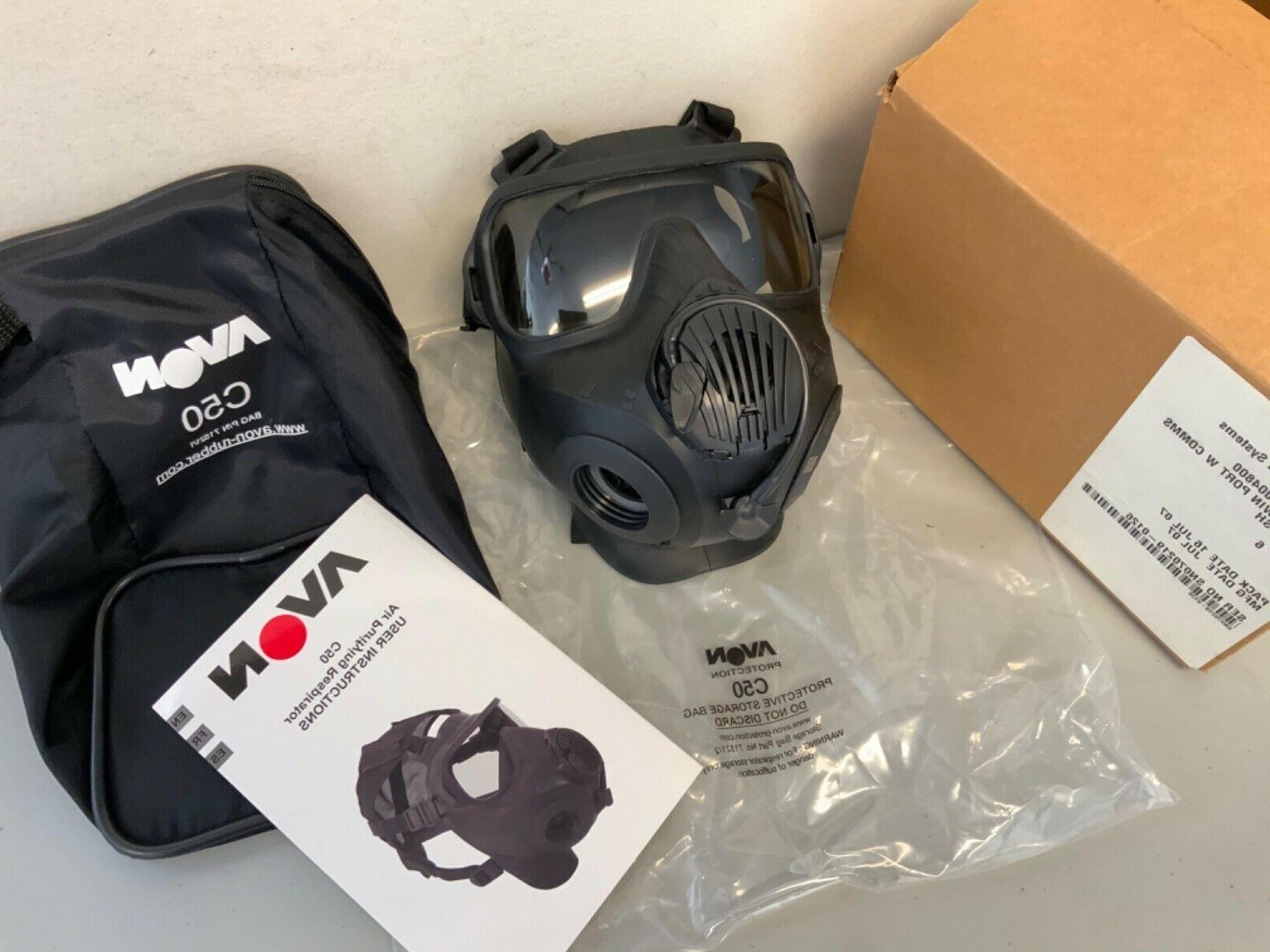 New Protection C50 Twin Mask Size