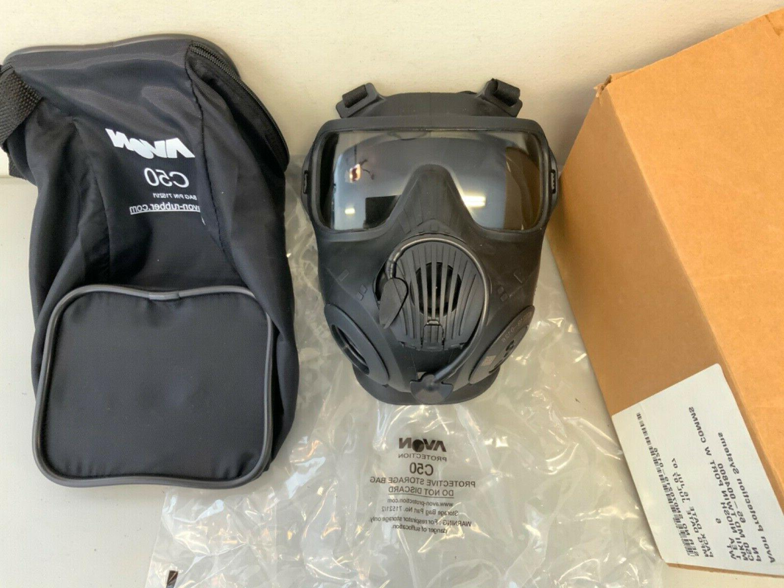 New Avon Protection C50 Twin Mask Respirator with Size
