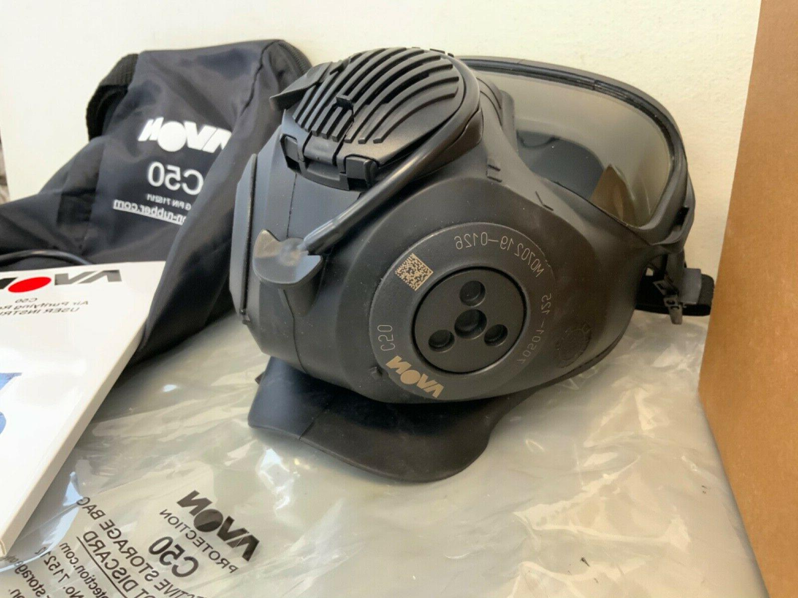 New Avon Protection C50 Twin Mask Respirator Bag Size