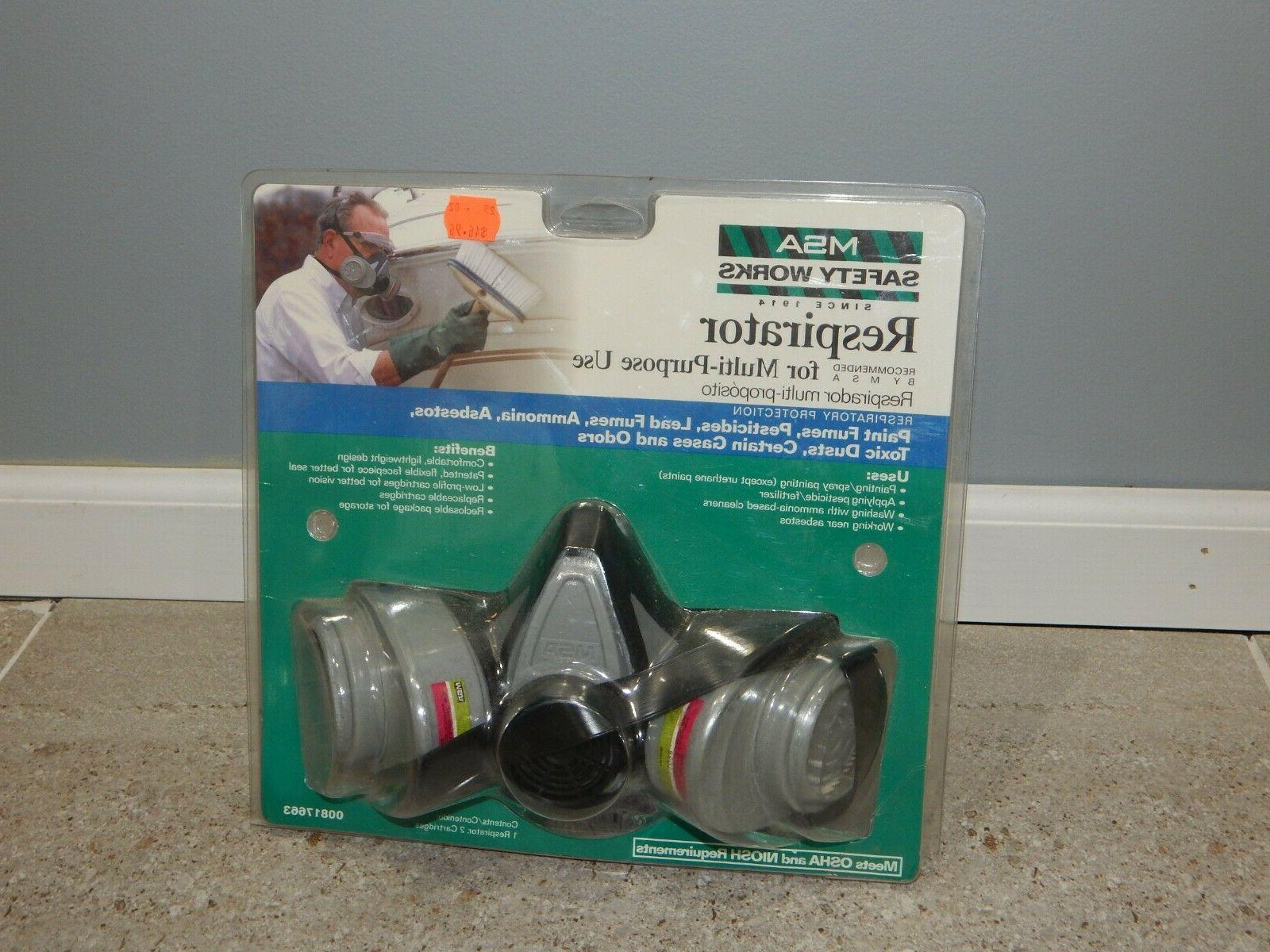 new safety works respirator for multi purpose
