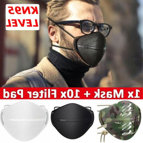 reusable respirators washable separate nose mouth mask