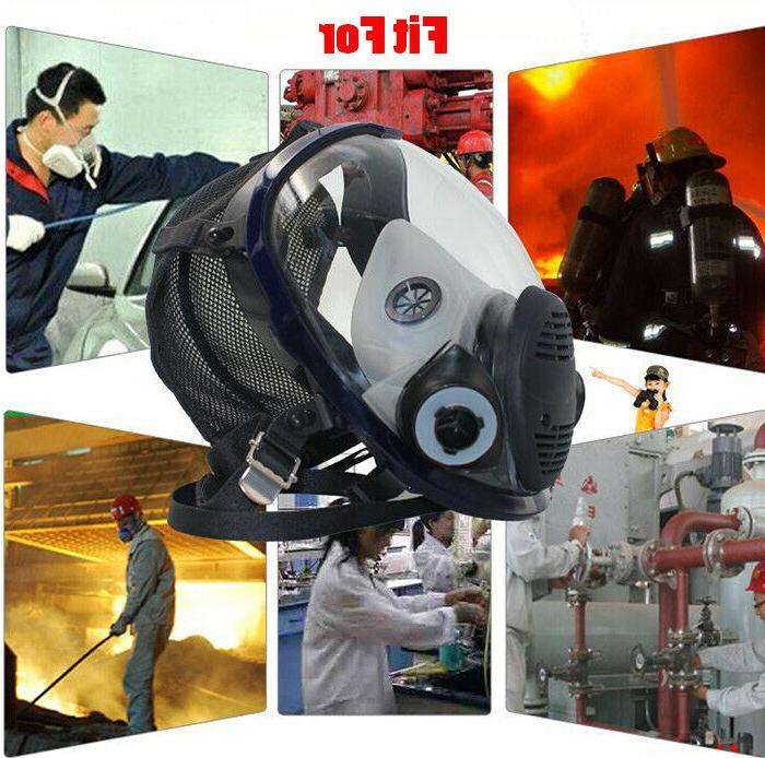 9in1 Suit Painting Same For 6800 Mask Full Respirator