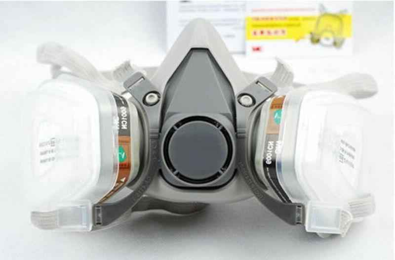 Emergency Safety Half face w/Dual Filter Protection