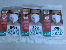 N 95 Respirator Mask,Family,Medical and Industrial 6 Count N