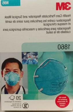 3M N95 1860 Health Care Particulate Respirator and Surgical