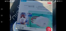 3M N95 1870+ Disposable Particulate Respirator Surgical Face
