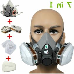 N95 Half Face Gas Mask Paint Spraying Dust Safety Respirator