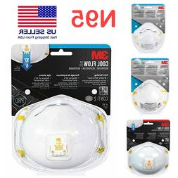 3M N95 Particulate Face Mask Respirator 8511/8110s/8120 Mout