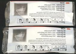 3M N95 Travel Flat FACE MASK 9210 Hygienic Respiratory Prote