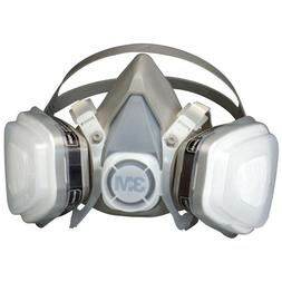 new 07193 dual cartridge respirator assembly size