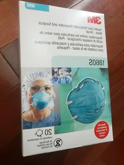 NEW 3M 1860S N95 Health Care Particulate Respirator Face Mas
