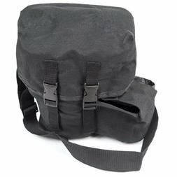 New Tactical Gas Mask Carrier Drop Leg Pouch Black Respirato