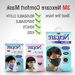 3M Comfort Face Mask Thinsulate Material 99% Respiratory Fi