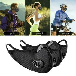 Outdoor Cycling Half-Face Mask Activated Carbon Respirator W