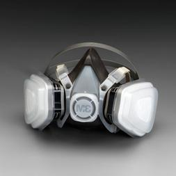 Paint Respirator Mask Large Spray 3M Solvent Particulate Vap