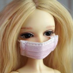 "Pink Respirator Mask Doctor Prop Fit 1/6 11"" BJD YOSD DD LUT"