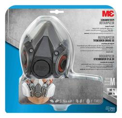 3M PROJECT RESPIRATOR REUSABLE 1/2 FACE MULTI-PURPOSE, SIZE