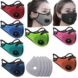 Resuable Half Face Mask Cover Haze Fog Mouth Filter Protecti