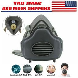 Safety Gas Mask Respirator Half Face Protect Painting Sprayi