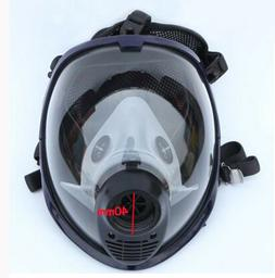 Safety Paint Spray Gas mask Full Face Facepiece Respirator w