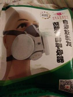 TF-0701 Double Filters Half Face Gas Mask Painting Spraying