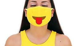 tongue straight premium cotton pollution filter face