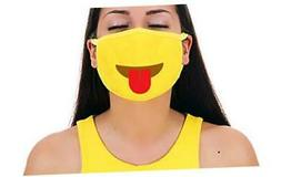 Tongue Straight Premium Cotton Pollution Filter Face Mouth M