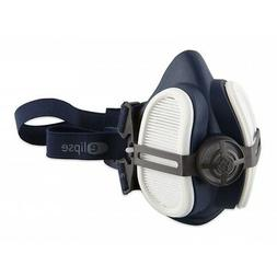 Twin Half Mask Respirator with P3 Dust Filter Cartridges Eli