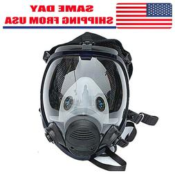 US Respirator Gas Mask Full Face Painting Spray Facepiece sa