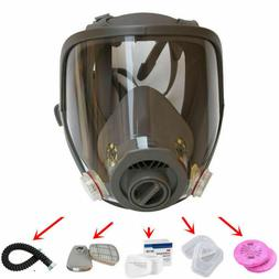 USA Full Face Facepiece Respirator Gas Mask F 6800 Dust Pain